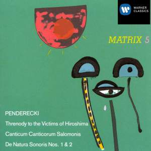 Penderecki: Threnody to the Victims of Horoshima & other works Product Image