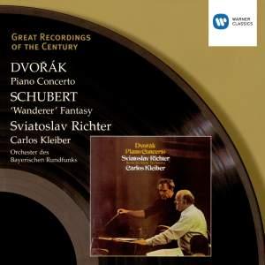 Dvorák: Piano Concerto & Schubert: Wanderer Product Image