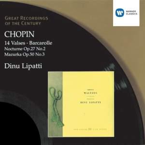Chopin: Waltzes Nos. 1-14, etc.