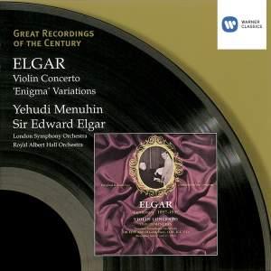 Elgar: Violin Concerto & Enigma Variations
