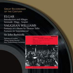 Elgar: Introduction & Allegro for strings, Op. 47, etc. Product Image