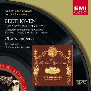 Beethoven: Symphony No. 6 in F major, Op. 68 'Pastoral', etc. Product Image
