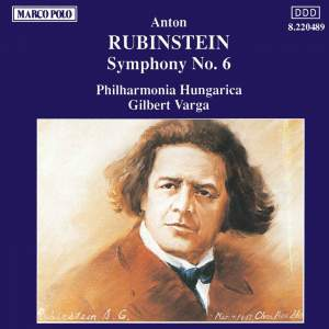 Rubinstein: Symphony No. 6 in A minor, Op. 111 Product Image