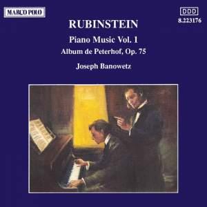 Rubinstein: Piano Music Vol. 1 Product Image