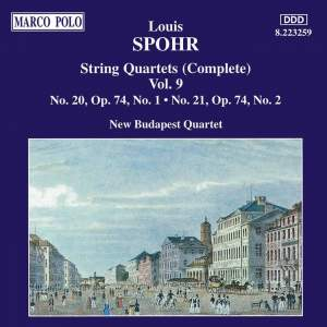 Louis Spohr: String Quartets, Volume 9