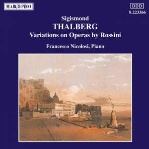 Thalberg: Variations on Operas by Rossini Product Image