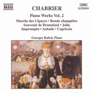 Chabrier: Piano Works, Vol. 2 Product Image