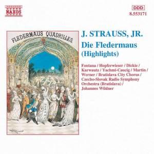 Strauss, J, II: Die Fledermaus (highlights) Product Image