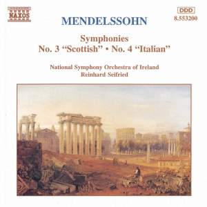Mendelssohn: Symphonies Nos. 3 & 4 Product Image