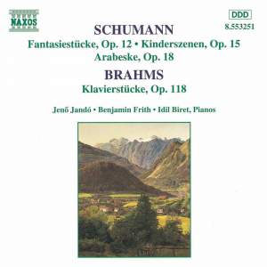 Schumann & Brahms: Piano Works Product Image