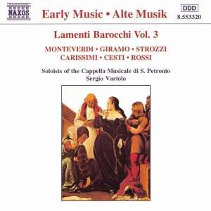 Lamenti Barocchi, Vol. 3 Product Image