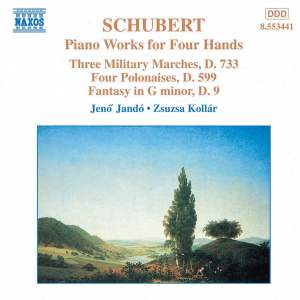 Schubert - Piano Works for Four Hands Volume 2