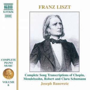 Liszt: Complete Piano Music Volume 6 Product Image