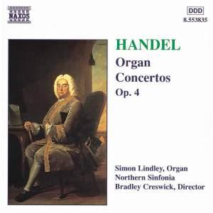Handel - Organ Concertos Op. 4 Product Image