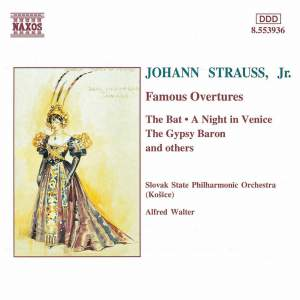 J. Strauss II: Famous Overtures Product Image