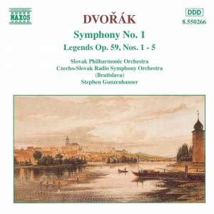 Dvorak: Symphony No. 1 & Legends Product Image