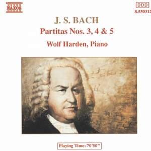 JS Bach: Partitas Nos. 3-5, Bwv 827-829 Product Image