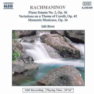 Rachmaninov: Piano Sonata No. 2 Product Image
