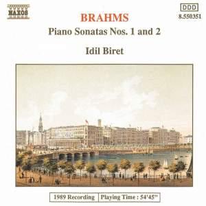 Brahms: Piano Sonatas Nos. 1 & 2 Product Image