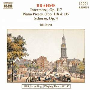 Brahms: Selected Piano Works Product Image