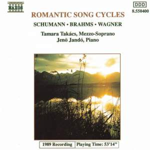 Romantic Song Cycles Product Image