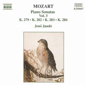 Mozart: Piano Sonatas, Vol. 3 Product Image