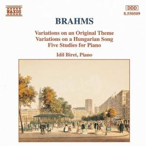 Brahms: Variations & Piano Studies Product Image