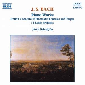 Bach: Piano Works Product Image