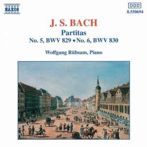 Bach: Partitas Nos. 5 & 6 Product Image