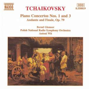 Tchaikovsky: Piano Concertos Nos. 1 & 3 and Andante & Finale Product Image