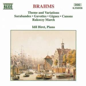 Brahms, Schubert & Schumann: Piano Works Product Image