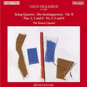 Holmboe: String Quartets Nos. 2, 5 & 6