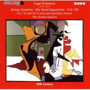 Holmboe: String Quartets Nos. 7, 8 & 9 Product Image
