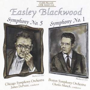 Easley Blackwood: Symphonies Nos. 5 & 1 Product Image