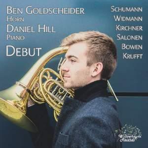 Ben Goldscheider: Debut Product Image