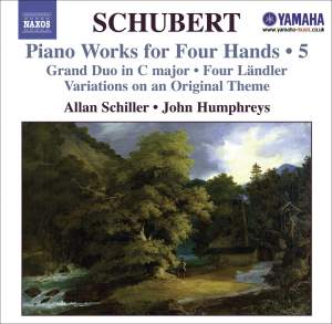 Schubert - Piano Works for Four Hands Volume 5 Product Image