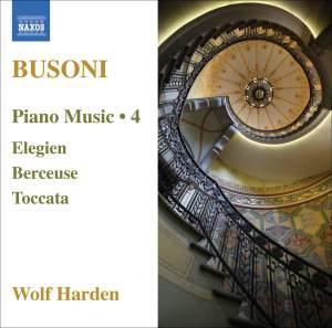 Busoni - Piano Music Volume 4 Product Image
