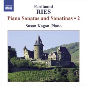 Ferdinand Ries: Piano Sonatas and Sonatinas Volume 2 Product Image