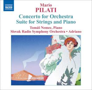 Pilati - Concerto for Orchestra Product Image