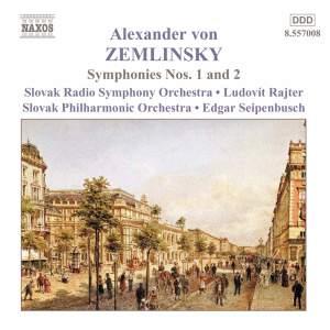 Zemlinsky - Symphonies Nos. 1 & 2 Product Image