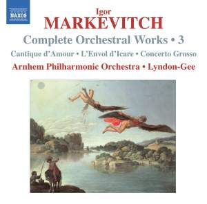 Markevitch - Complete Orchestral Works Volume 3 Product Image