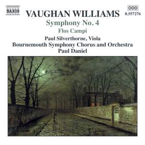Symphony No. 4 /  Norfolk Rhapsody No. 1 / Flos Campi