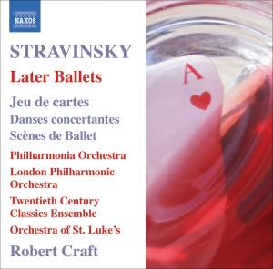 Stravinsky - Later Ballets Product Image