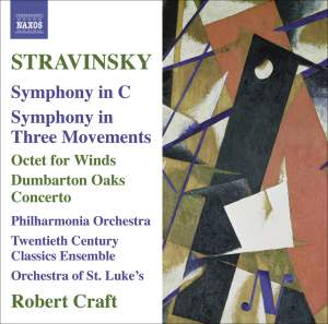 Stravinsky - Symphony in C Product Image