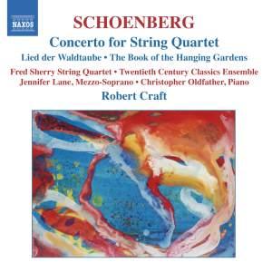 Schoenberg: Concerto for String Quartet Product Image