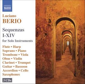 Berio: Sequenzas I-XIV for Solo Instruments Product Image