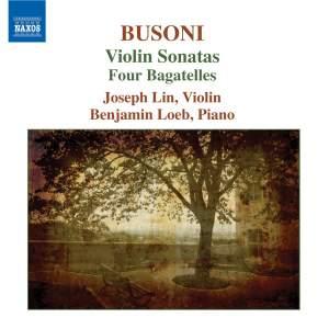 Busoni: Works for Violin and Piano Product Image