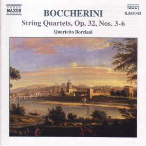 Boccherini: String Quartets Nos. 3-6 Product Image