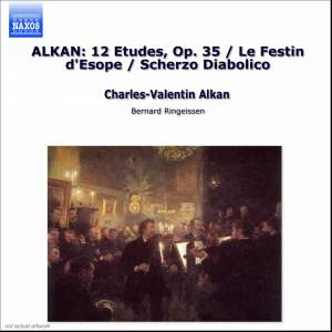 Alkan: Twelve Études in the minor keys, Op. 39, etc. Product Image