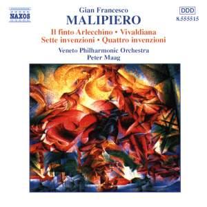 Malipiero: Il finto Arlecchino, Vivaldiana & Invenzioni Product Image